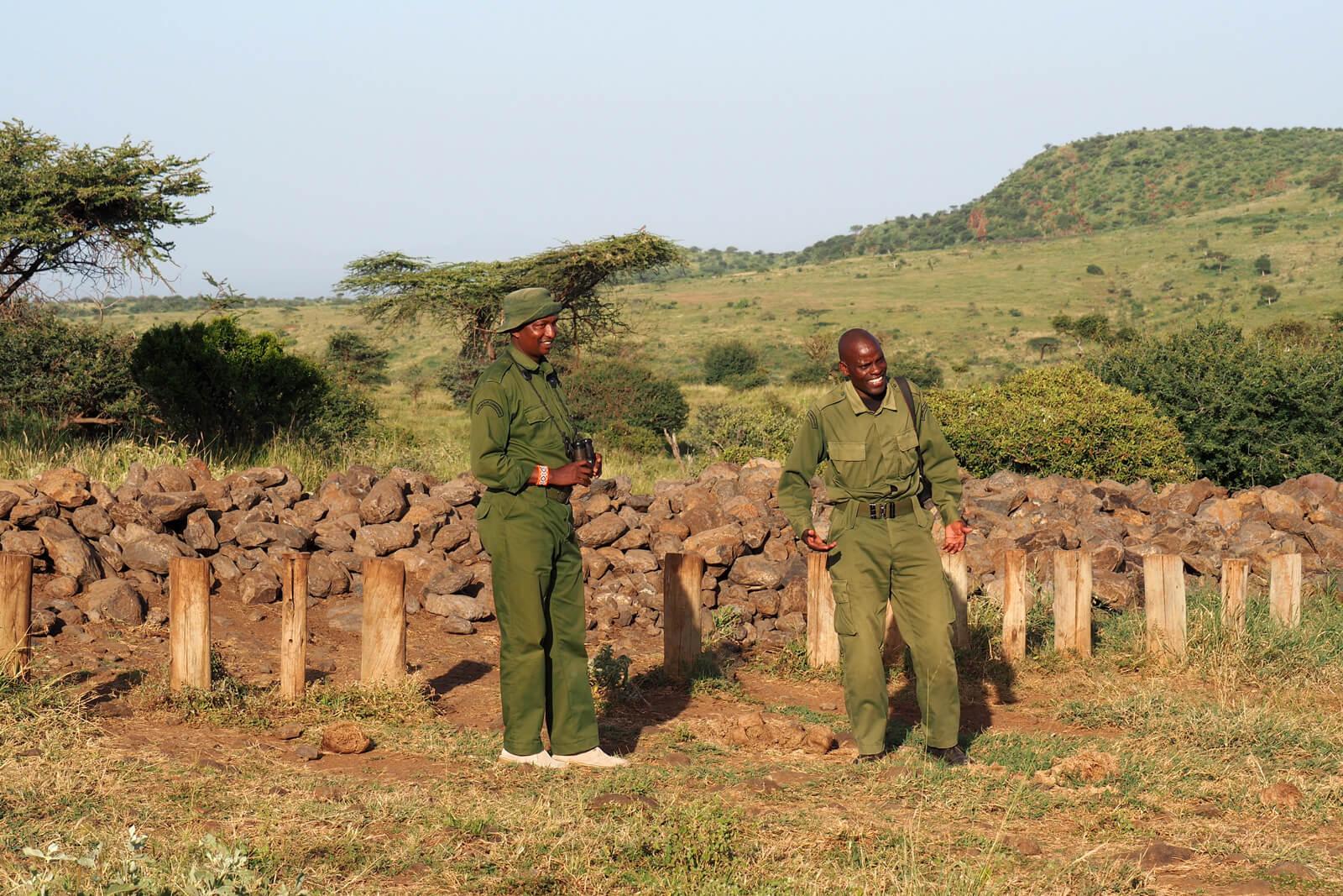 Lewa Wildlife Conservancy - Rhino Gate