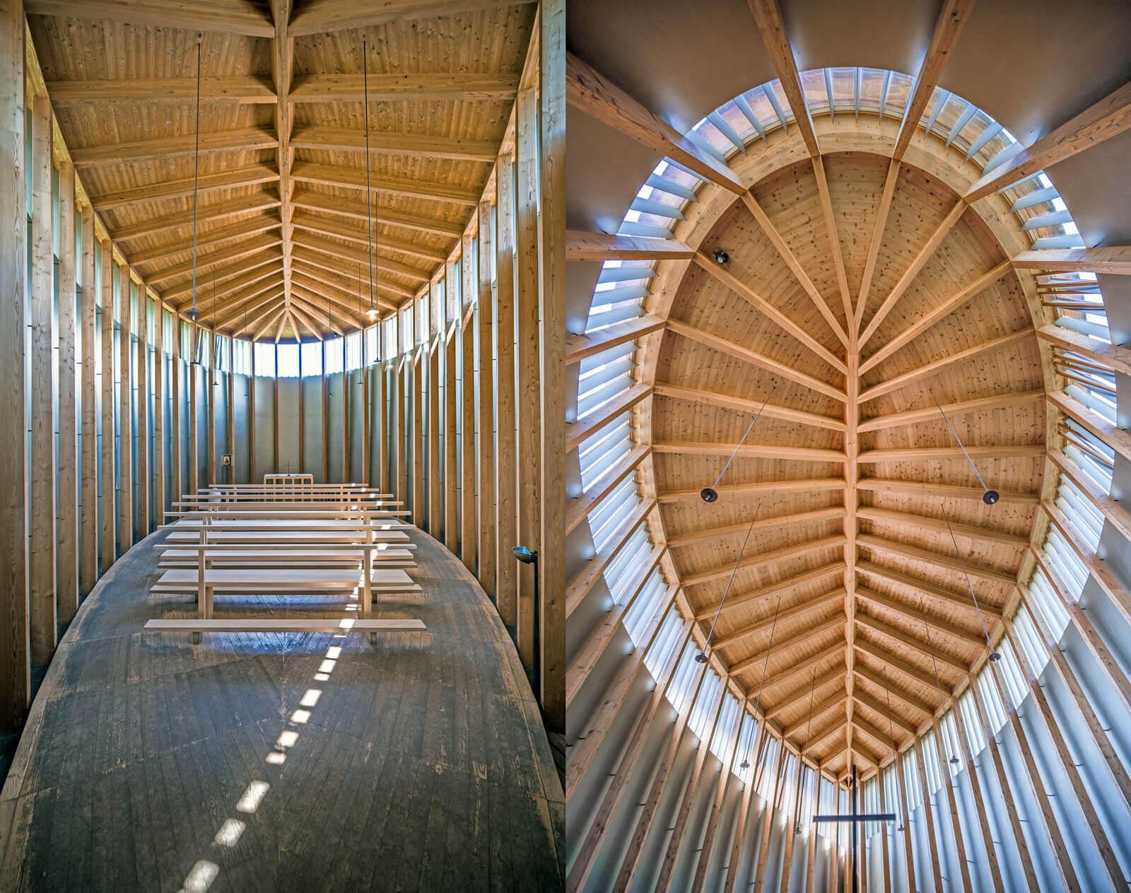 Saint Benedict Chapel in Sumvitg, Switzerland