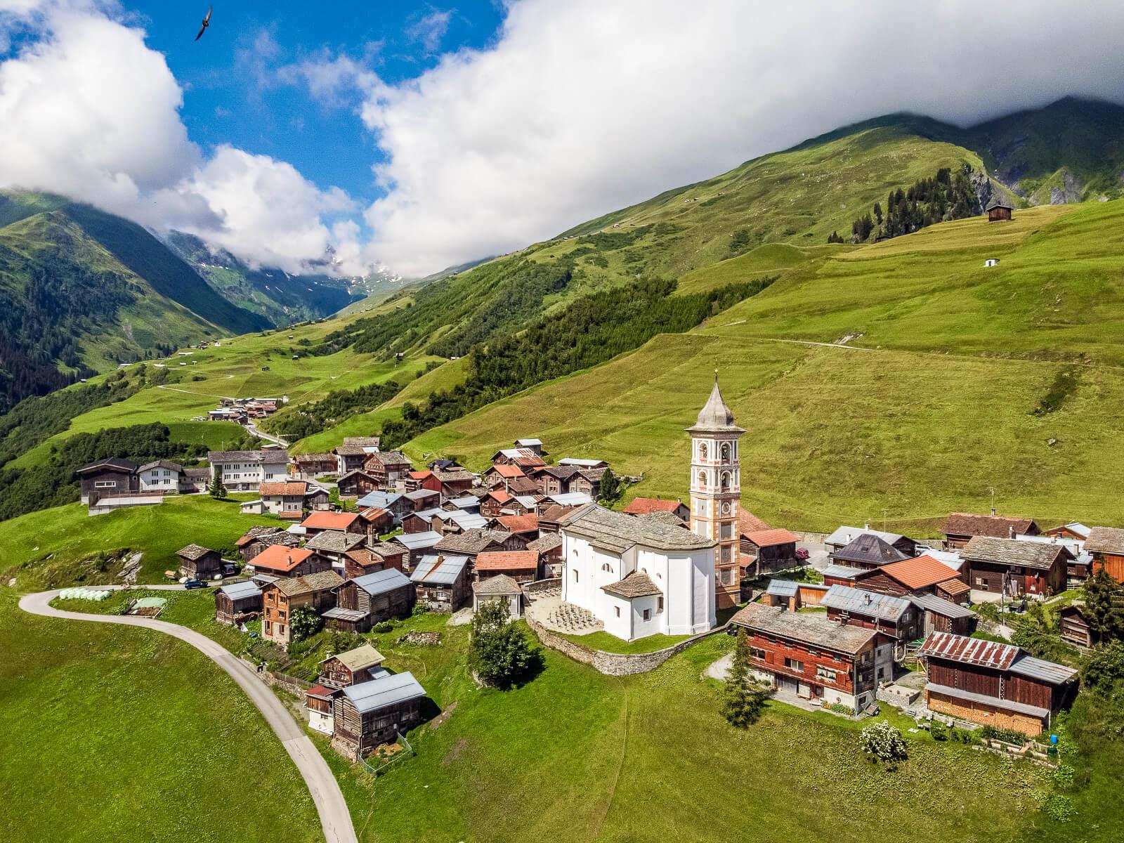 Stiva da morts in Vrin, Switzerland