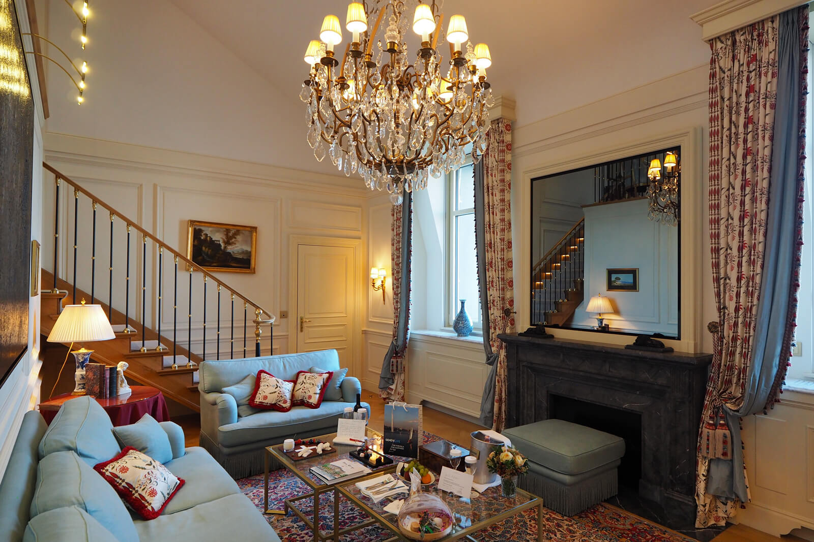 Beau-Rivage Geneva - Lakeview Suite