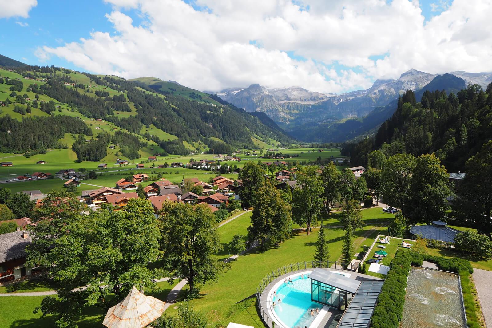 Lenkerhof Gourmet Spa Hotel in Lenk