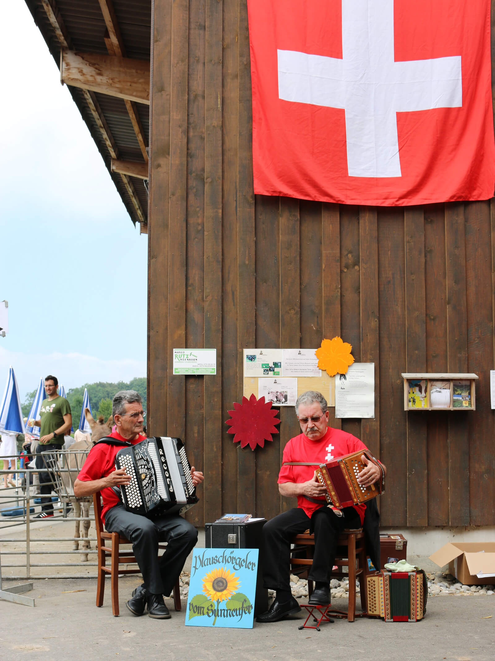 Swiss National Day Harmonica Concert