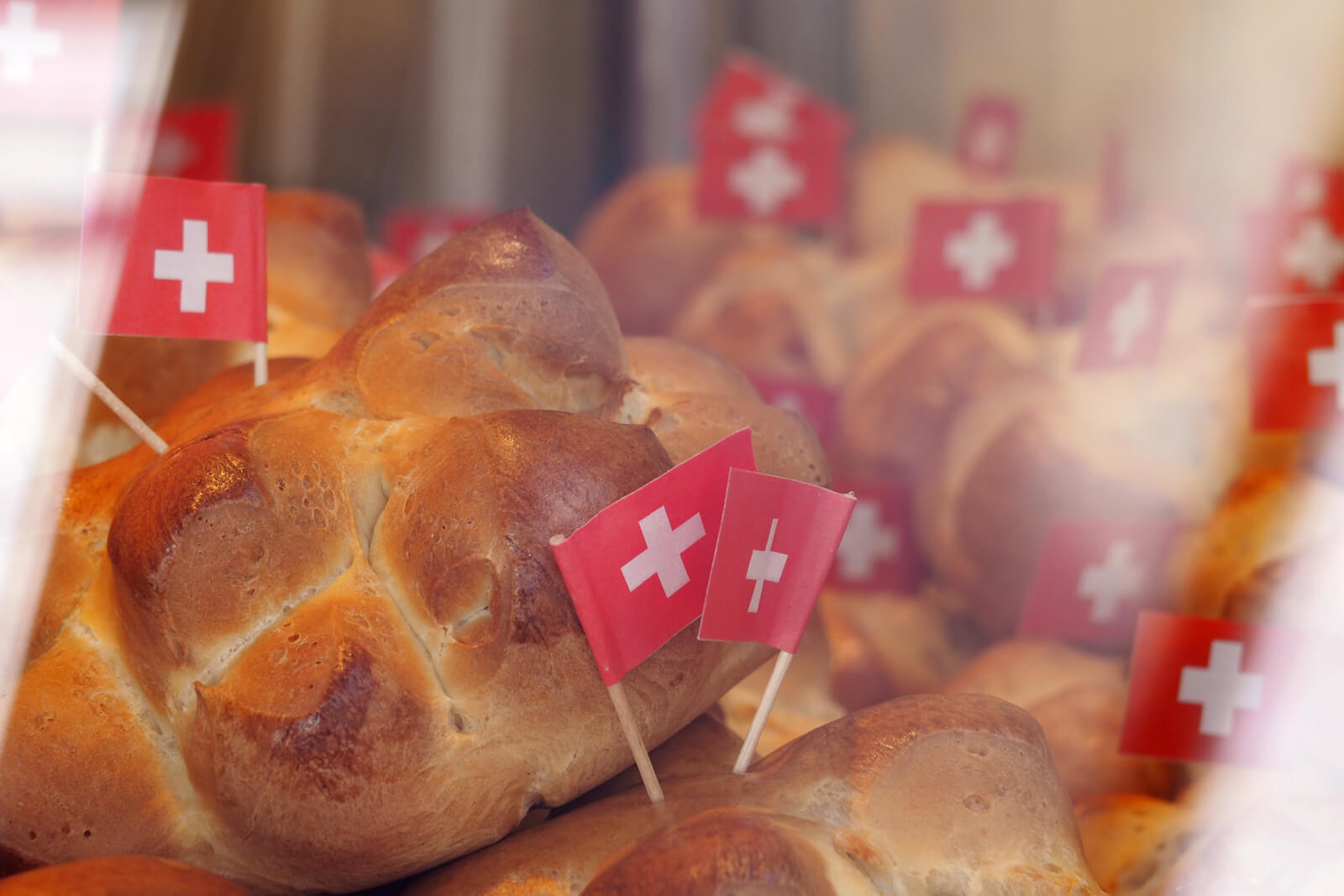 Zopf Buns for Swiss National Day
