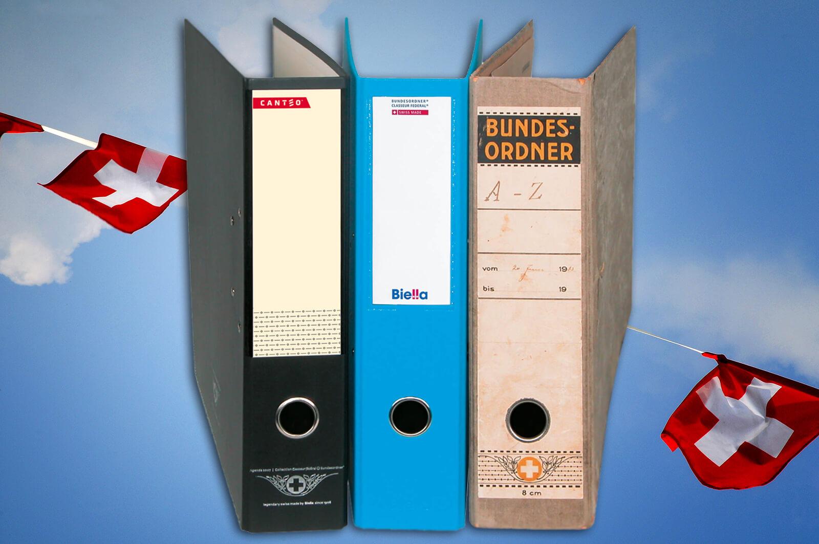 Bundesordner - Swiss File Binders