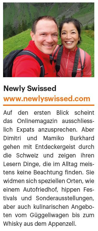 Newly Swissed in the Fine to Dine Magazin