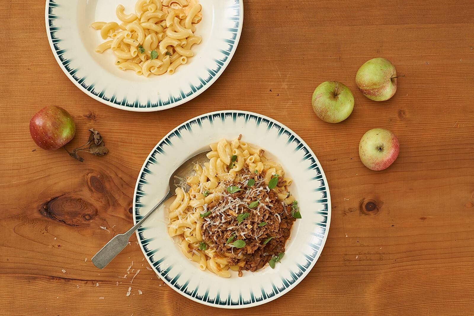 Gehacktes mit Hörnli - Swiss Macaroni Dish