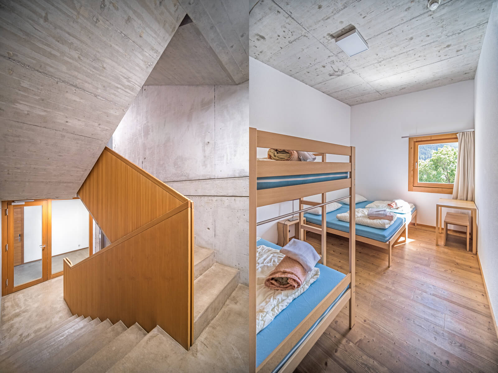 Scuol Youth Hostel Architecture