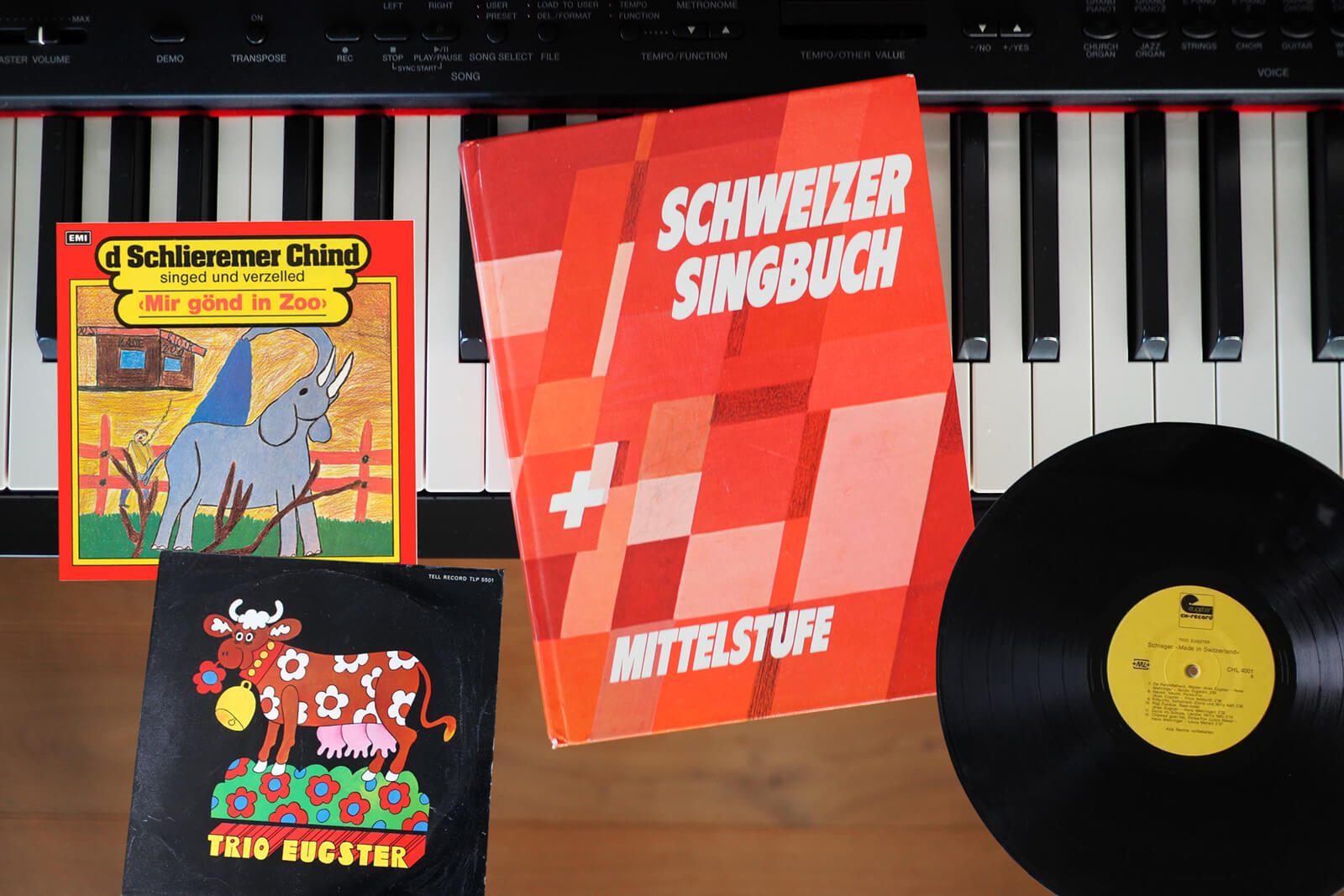 Swiss German songs from My Childhood - Schweizer Singbuch