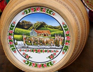 Appenzell Art - Naive Swiss Bauernmalerei