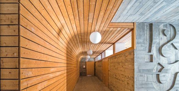 Architecture in the Surselva region - Gymnasium Kloster Disentis
