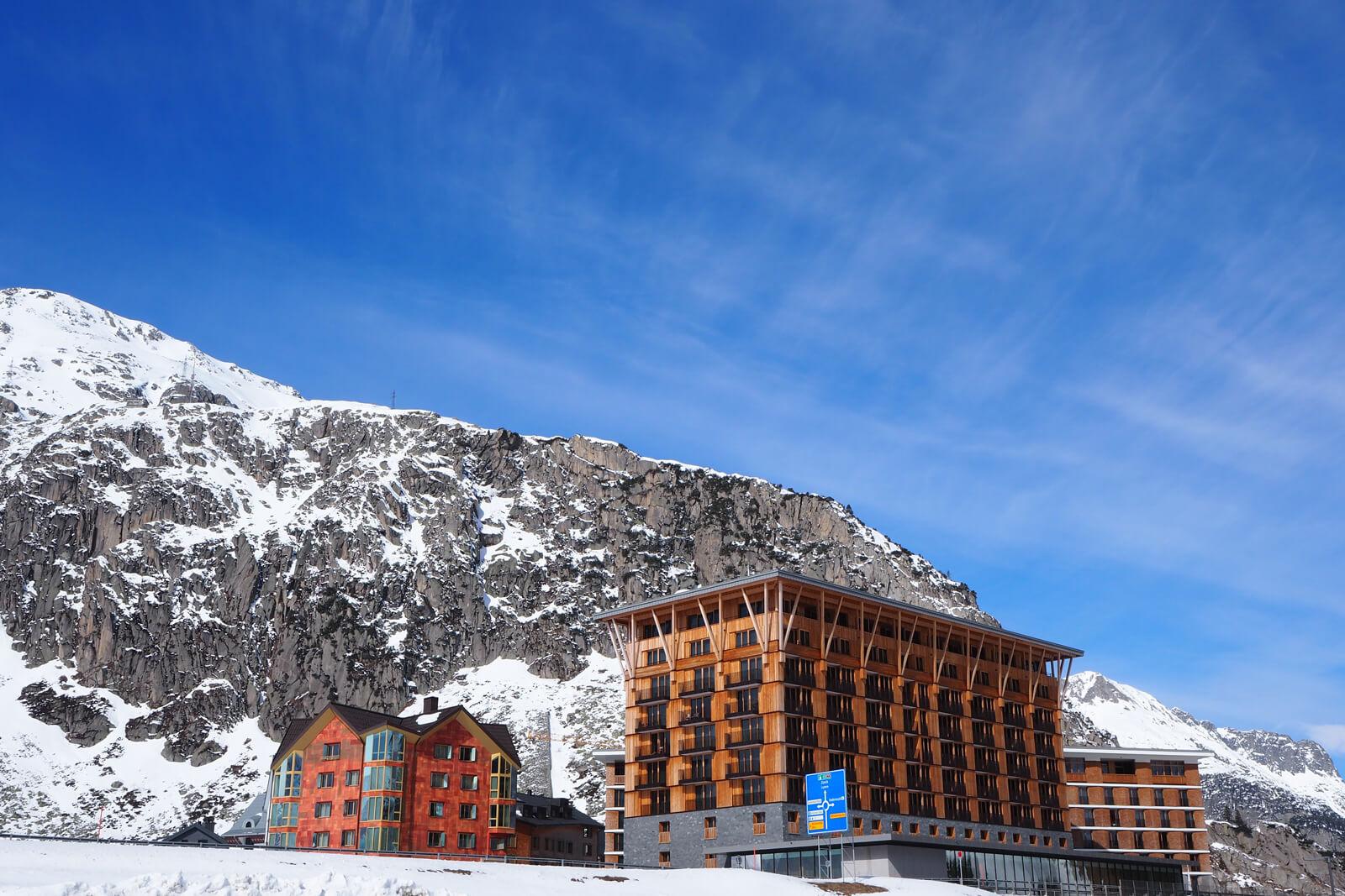 Radisson Blu Hotel in Andermatt
