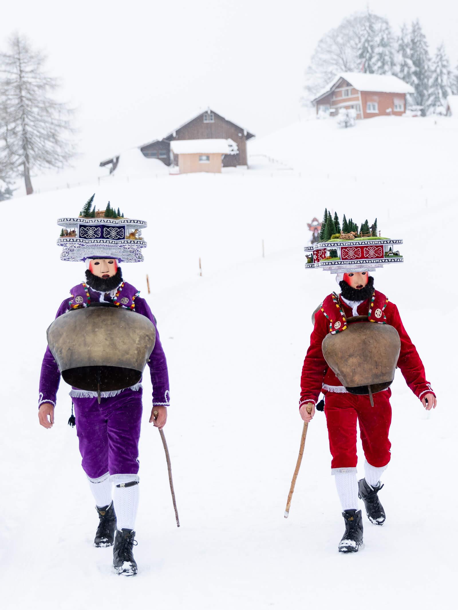 Silvesterklausen in Appenzell Ausserrhoden