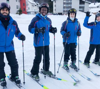 Powercoders Ski Day Engelberg 2020