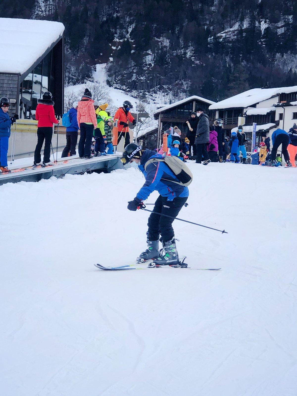Powercoders Ski Day Engelberg 2020