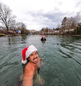 Cold Water Swimming in Switzerland