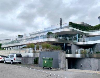 Footsteps of Federer Book - Former Federer Residence in Wollerau (Copyright Dave Seminara)