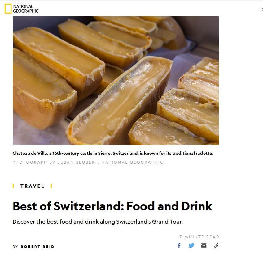 National Geographic - Best of Switzerland: Food and Drink