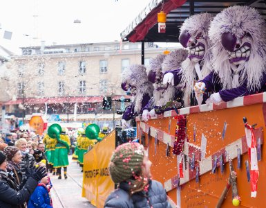 Waggis at the Basel Carnival