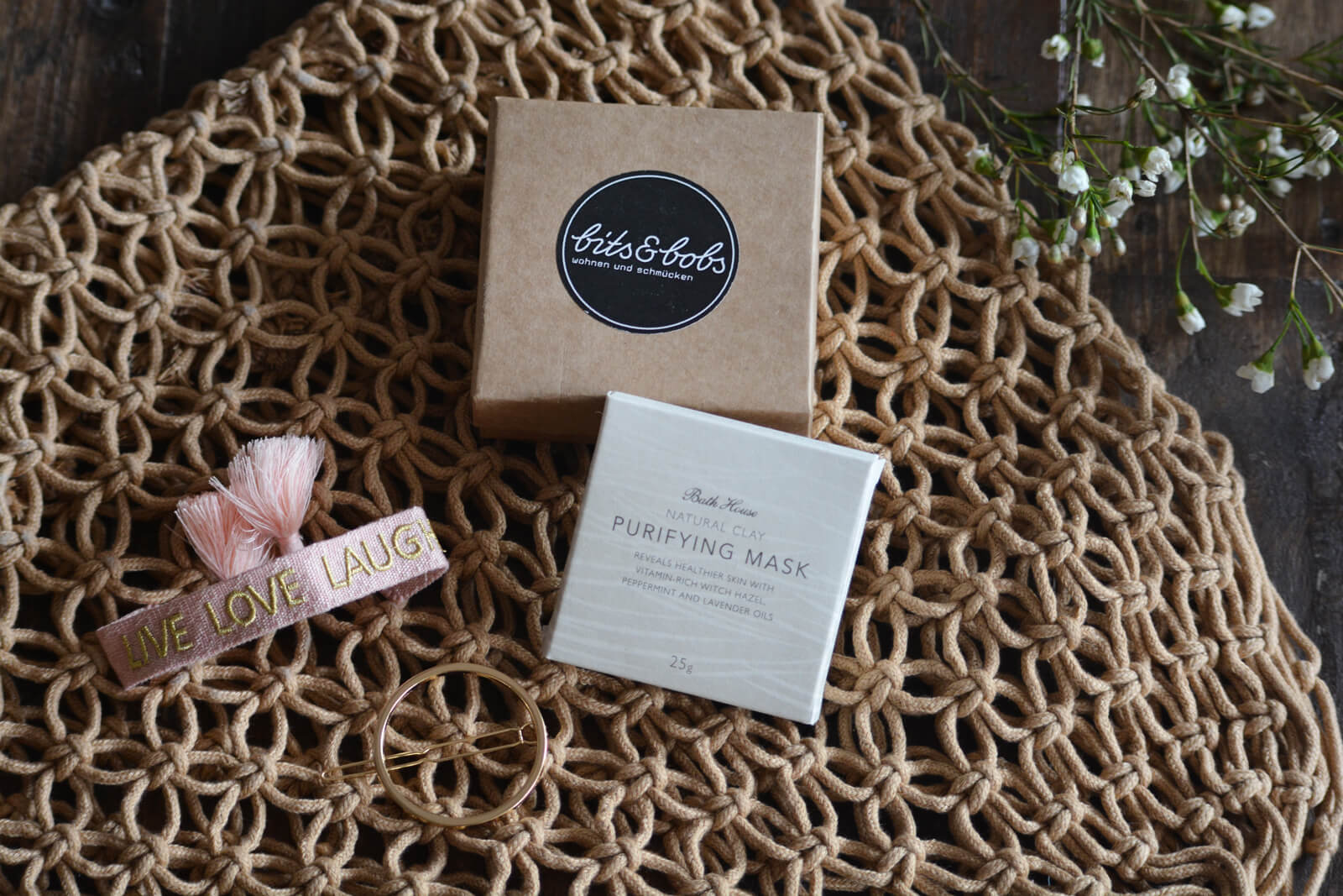 Home Spa Gifts from the Bits & Bobs Online Shop