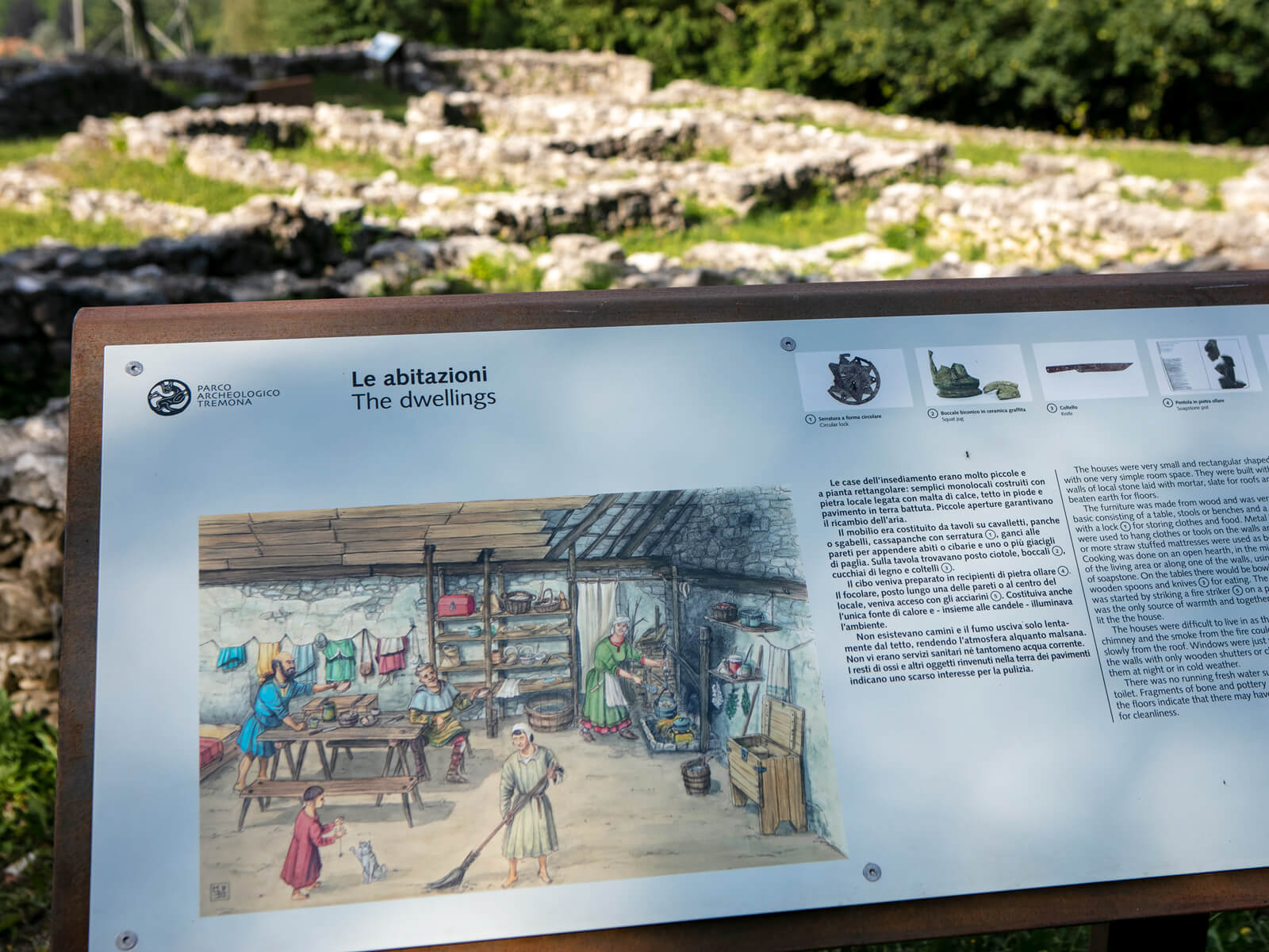 Tremona Archaeological Park (Copyright Ticino Turismo/Luca Crivelli)
