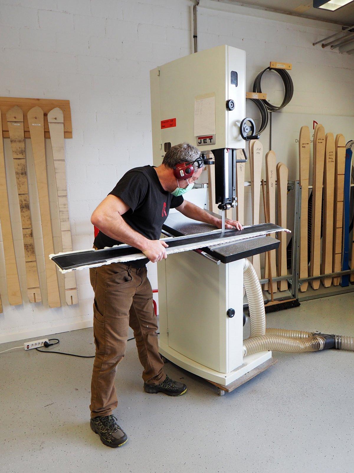 Anavon Ski-Building Workshop in Disentis