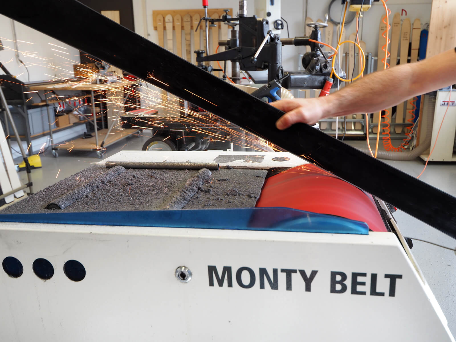 Build your own skis at the Anavon Ski-Building Workshop in Disentis