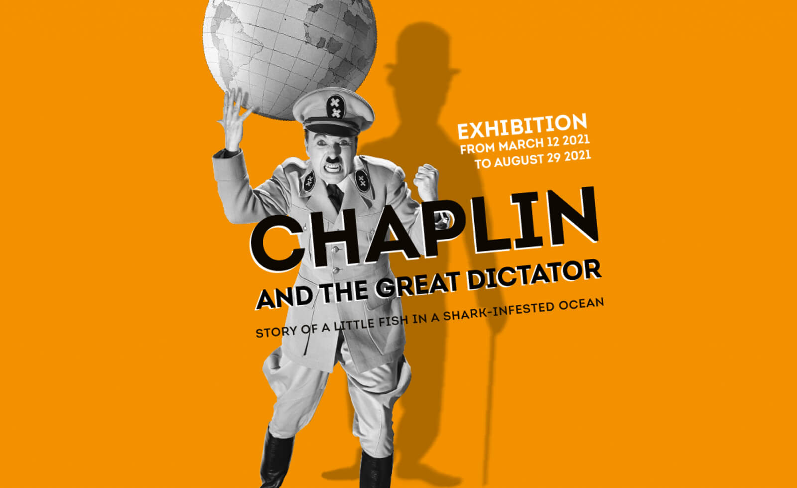 Chaplins World - The Great Dictator Special Exhibit Poster