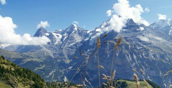 Hike in Mürren - Mountain View Trail in Mürren