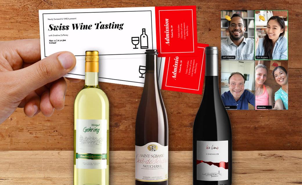 Virtual Swiss Wine Tasting VINEA - May 2021