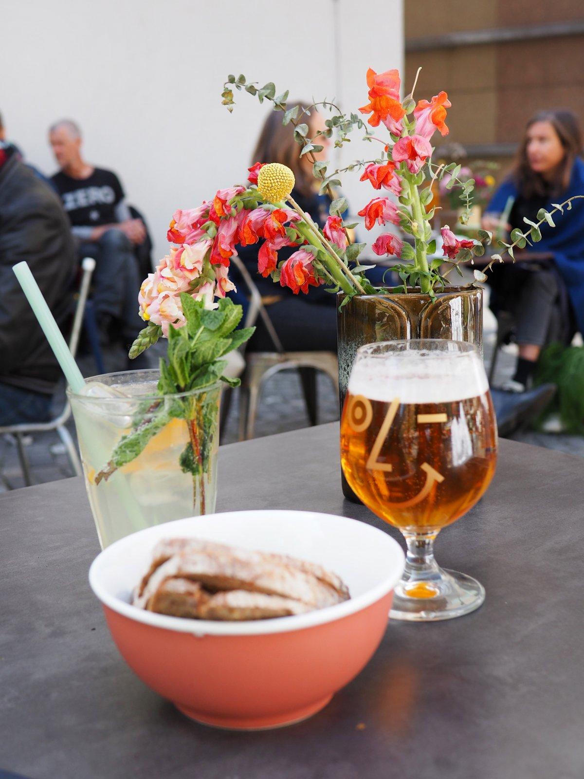 Café des Artisans in Lausanne