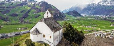 Chapel of St. Gorge in Berschis
