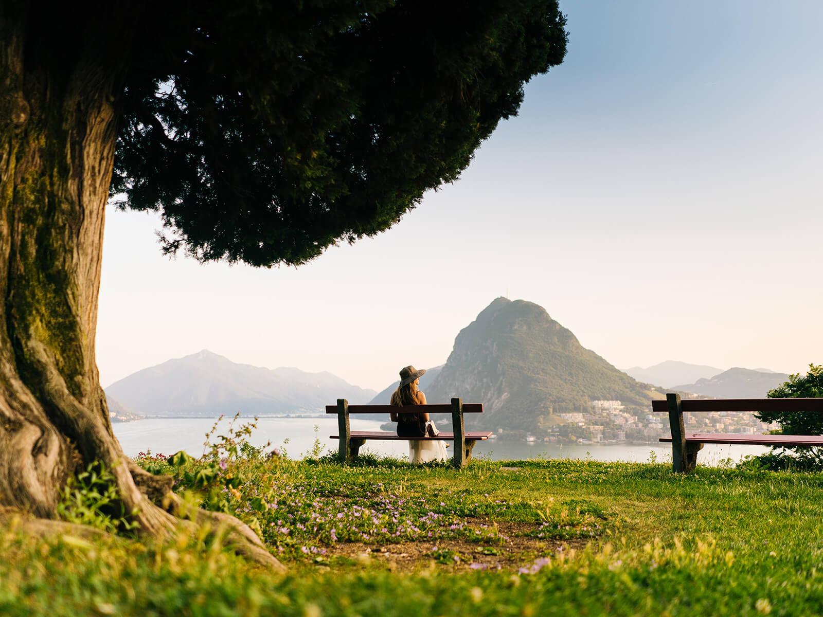 Parco San Michele Lugano (Copyright Milo Zanecchia/Ticino Turismo)