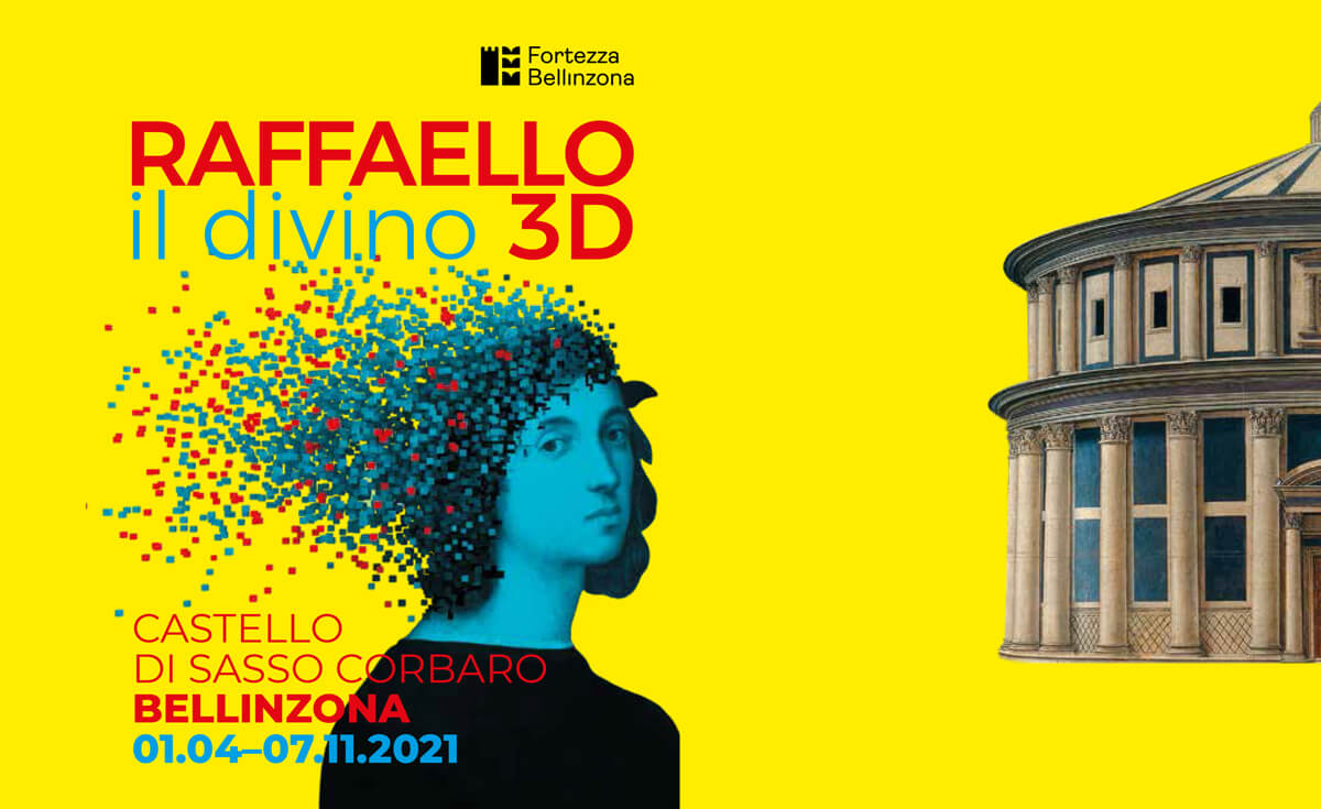Raffaello 3D Exhibit in Bellinzona