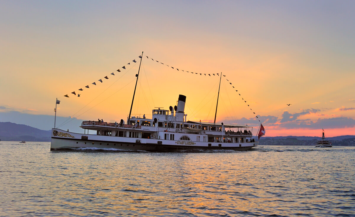 Wine and Dine Cruise on Lake Lucerne