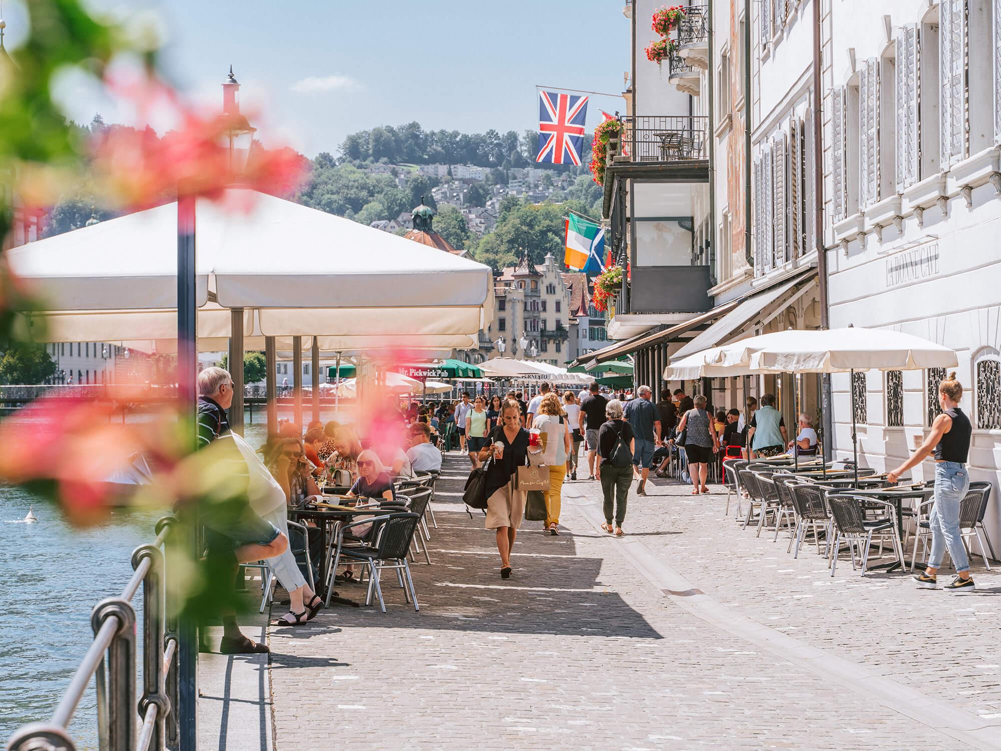 Rathausquai Luzern (Copyright Laila Bosco/Luzern Tourismus)