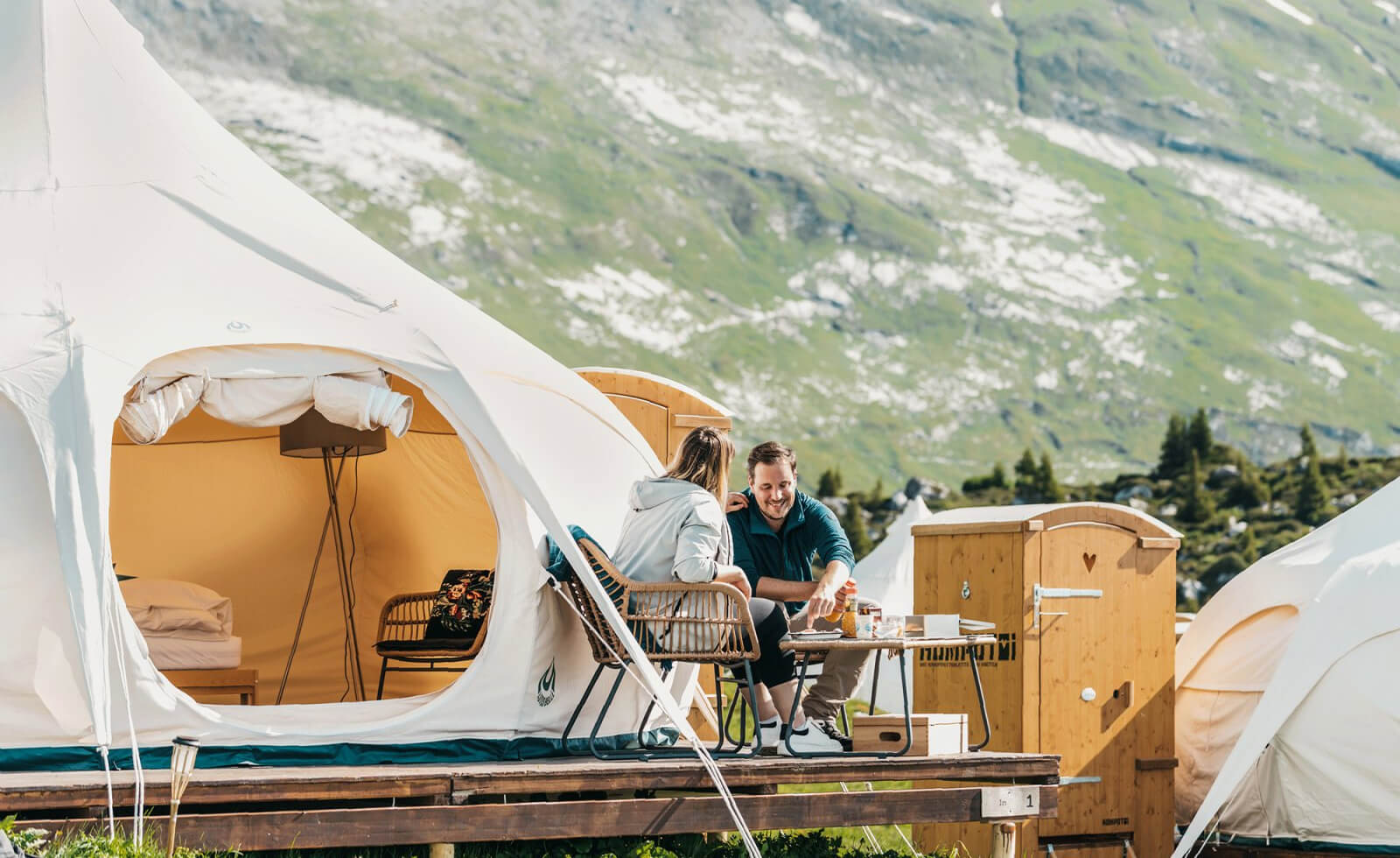TCS Pop-up Glamping Laax