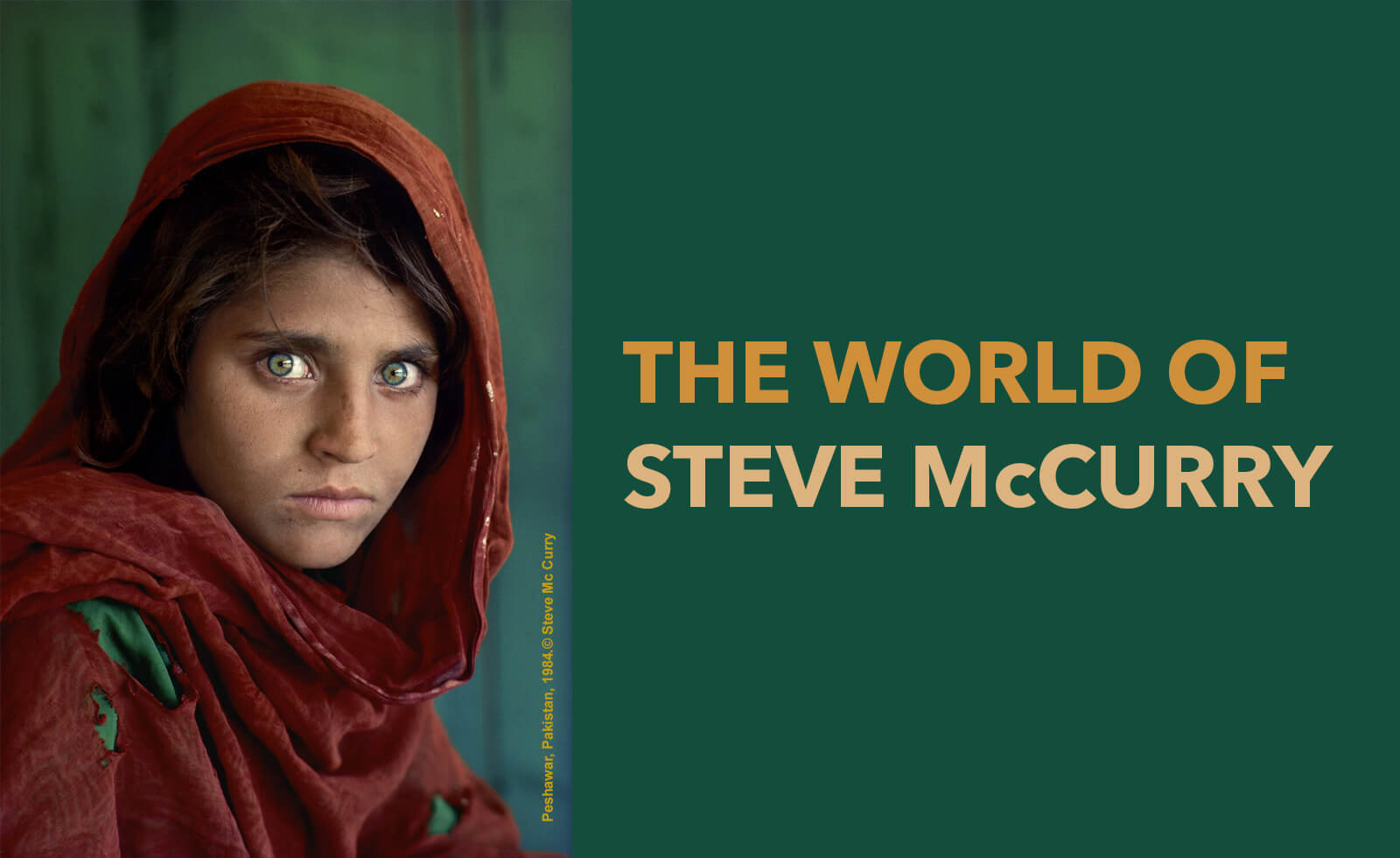 The World of Steve McCurry Photography Exhibit
