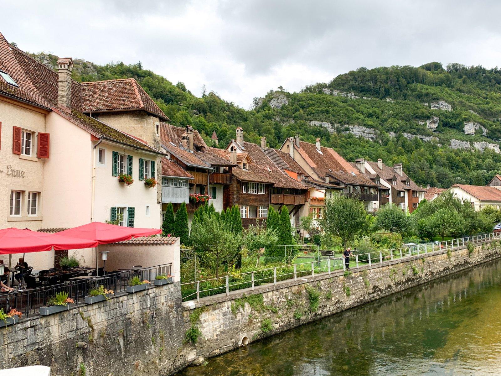 "Saint-Ursanne, the ""Pearl of the Jura"""