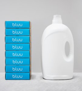 bluu detergent sheets