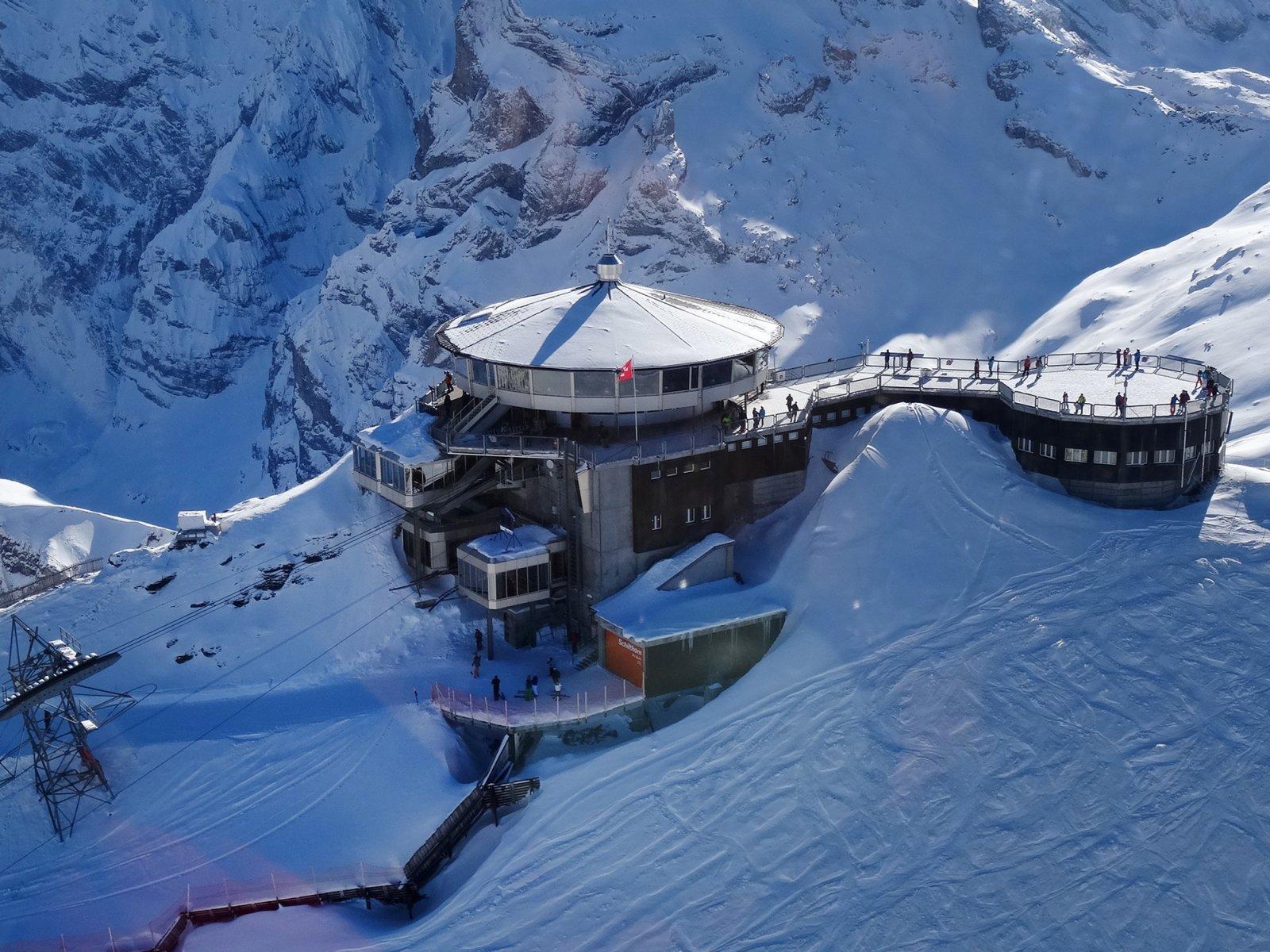 James Bond Mount Schilthorn