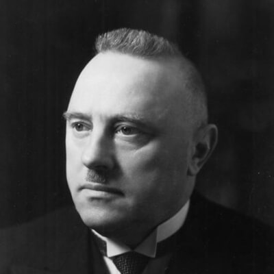 Rudolf Minger Portrait
