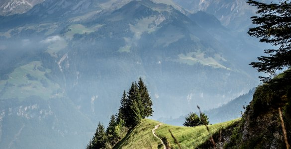 Tell Trail Stage 5 from Stans to Engelberg