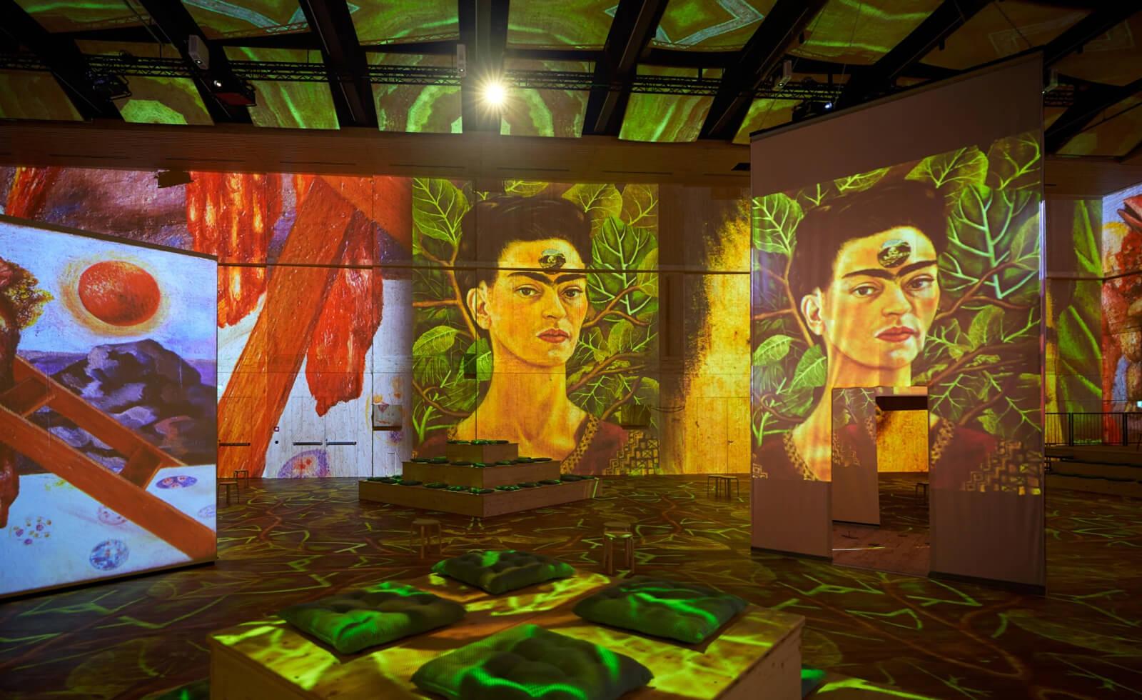 Viva Frida Kahlo Exhibit in Zurich