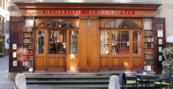 Geneva City Guide - Bookshop